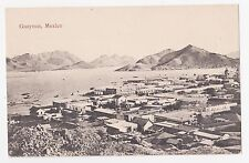 Guaymas,Sonora,Mexico,Bird's Eye View of the Town,c.1909