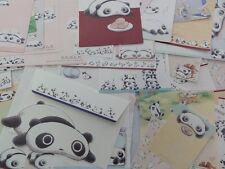 San-X TAREPANDA kawaii stationery san-x memo letter set panda cute gift girl lot