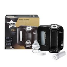 Tommee Tippee Closer to Nature Perfect Prep Black Baby Bottle Maker 2 minutes