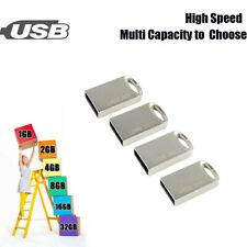 Metal USB2.0 128GB 32GB 16GB 8GB Flash Memory Stick Storage U Disk Drive lot 1MB
