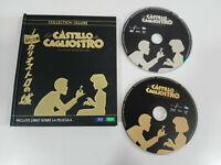 El Castillo de Cagliostro Hayao Miyazaki Studio Ghibli Deluxe Blu-ray DVD Libro
