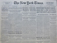 10-1939 WWII October 23 FDR KING GEORGE GANDHI INDIA - FRENCH QUIT WARNDT FOREST