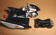 BATMAN 66 adam west HOT WHEELS bat CYCLE + robin POD toy batcycle