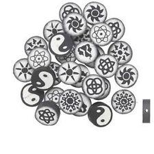 4965 Polyclay Beads PK20 Assorted Round *UK EBAY SHOP*