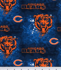 "Nfl Chicago Bears Football Curtain Valance 57""Wide X 13""Long"