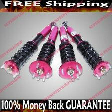Coilover Suspension for Honda Accord 98-02 Acura CL 01-03  RED