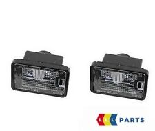NEW GENUINE MERCEDES MB GLK CLASS X204 LICENSE PLATE LIGHT SET 2PCS A2048201056