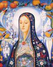 The Virgin by Joseph Stella - Blessed Mary Mother Jesus 8x10 Print Picture 1803