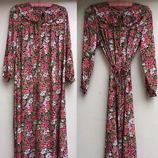 Vintage Dress Floral DR dora DR bora DR oora S  M (see Measurements)