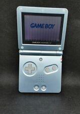 Nintendo Game Boy Advance SP Arctic Blau Handheld Spielkonsole Guter Zustand