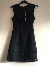 BNWT NEW LOOK Black Party Dress Size 8
