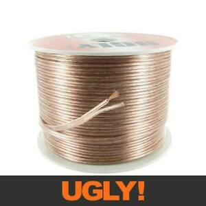 100m 20AWG UGLY Speaker Cable OFC 20 Gauge AWG 28x0.15mm Strand