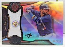 Jose Bautista 2016 Topps Tribute Stamp of Approval GU Jersey Sticker #'d 166/199