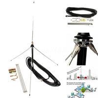 15M Cable Powerful 1/4  Wavelength GP Antenna Set for 0.5-30 Watt FM Transmitter
