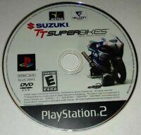 SUZUKI TT SUPER BIKES - PLAYSTATION PS2 - GAME DISC ONLY - FREE S/H - (B1)