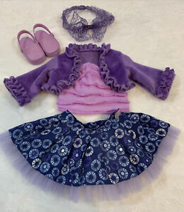 """18"""" Doll Outfit Clothing Jacket Top Skirt Shoes Headband Set Madame Alexander"""