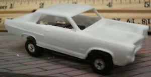 Resin HO SLOT CAR scale 2021 retooled casting 1964 Pontiac grand prix