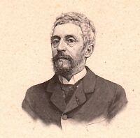 Portrait XXe Jules Worms Peintre Peinture Illustrateur Graveur