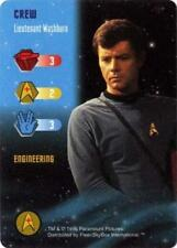 Star Trek TCG: Lieutenant Washburn [Mint/Near Mint] Starfleet Manuevers Fleer Tr