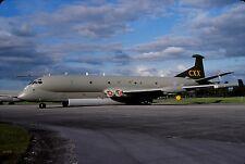 Original colour slide Nimrod MR.2P spcl. XV260 of Kinloss Wing Royal Air Force