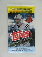 Topps Sealed Pack 2015 Football 12 Card Set