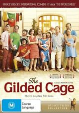 The Gilded Cage (2014) GENUINE REG 4 DVD NEW & SEALED French Portuguese COMEDY