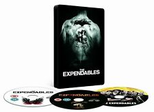 The Expendables Steelbook DVD + Blu-Ray   3 Discs BRAND NEW AND SEALED.