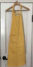 Williams Sonoma Unisex Adult Classic Yellow Cotton Twill Apron