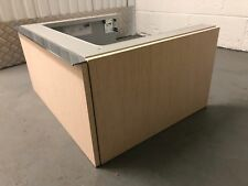 Duravit Wall Hung One Drawer Counter Top Sink Vanity Unit In Wood Effect - NEW