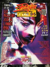 Magazine Player One D'or 96 Hors Série Avec Poster Retrogaming PlayStation