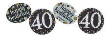ORO CELEBRAZIONE 40th compleanno Coriandoli 34G