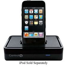 Control4 C4-IPDKTT-E-B Black iPod Music Charge Dock Touch Nano Classic iPhone -C