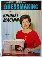 Vintage Lift-out - The Australian Women's Weekly - DRESSMAKING - 1950s -VGC