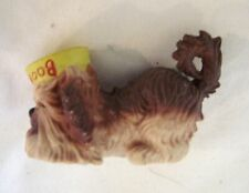 Vtg Here's Boomer Dog with Dog Bowl Figure PVC Paramount Picture s1981 W Berrie