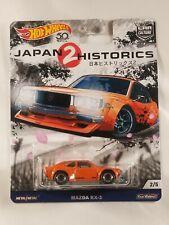 HOTWHEELS CAR CULTURE MAZDA RX-3 REAL RIDERS JAPAN HISTORICS 2