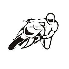 2 Aufkleber Motorad Seitenlage Racing Bike Sticker Decal 13 cm Tuning JDM