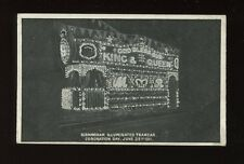Warwicks BIRMINGHAM Coronation decorated Tramcar 1911 PPC