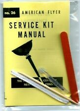 MOTOR CLEANING and TUNEUP KIT for American Flyer O Gauge Scale Trains Parts