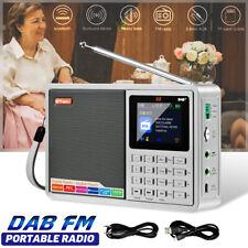 bluetooth DAB/DAB+/FM Digital Radio Speaker LCD Portable Rechargeable