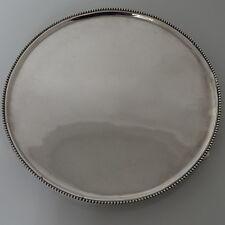 18th Century Silver Dutch Salver Amsterdam 1792 Diederik Willem Rethmeyer