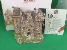 Lilliput Lane 1989 Scottish Collection - Claypotts Castle Mint in Box + Deeds