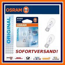 2X OSRAM Original Ligne W16W 12V FEU DE RECUL Toyota Opel Renault Skoda Seat
