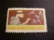Scott # 2023 St. Francis of Assisi Unused OGNH