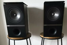 Kef Q300 Speakers Bookshelf Stand Mount Absolutely Beautiful Condition. In Box