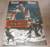 A1 Filmplakat  MONTY WALSH  ,LEE MARVIN.JEANNE MOREAU,JACK PALANCE
