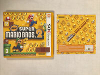 New Super Mario Bros 2. Nintendo 3DS CASE AND MANUAL ONLY (NO GAME)