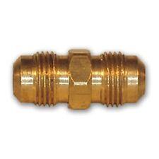 1/4 pollici OTTONE Union Flare RACCORDO TUBO RAME MORBIDO TNP Aria Linea Acqua gas combustibile