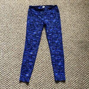 Women's Weatherproof 32 Degrees Cool Blue Running Workout Pants Leggings Size S