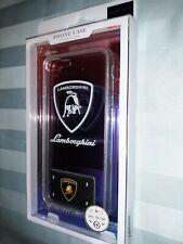 I Phone 7 Plus / 8 Plus Lamborghini Clear Plastic Phone Case W/ Call Flash