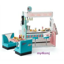 American Girl Doll Maryellen's Seaside Diner playset Restaurant ships today